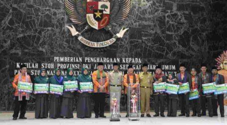 Kafilah DKI Jakarta Pertahankan Gelar Juara Umum STQH, Terima Apresiasi