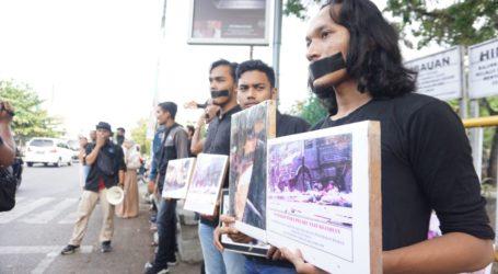 Gelar Aksi Kamisan, Mahasiswa Aceh Desak Pemerintah Tuntaskan Penanganan Pelanggaran HAM