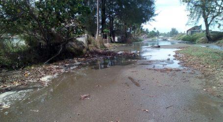 Fenomena Air Pasang Terjadi di Aceh Barat
