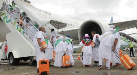 Kloter Pertama Calon Jamaah Haji Aceh Berangkat