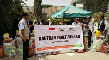 ACT Salurkan Bantuan Paket Pangan ke Yaman