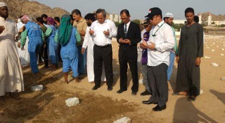 Empat WNI Korban Kebakaran dimakamkan di Mekkah