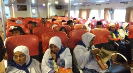 38 Jamaah Calon Haji Sabang Tiba di Banda Aceh