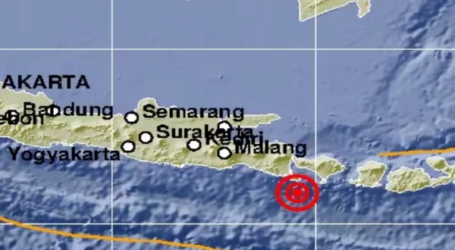 Gempa berkekuatan 6,0 SR Guncang Bali dan Sekitarnya