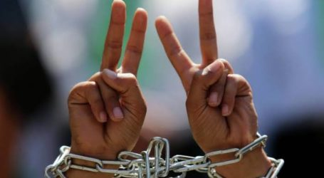 Sembilan Tahanan Palestina Kembali Lakukan Mogok Makan