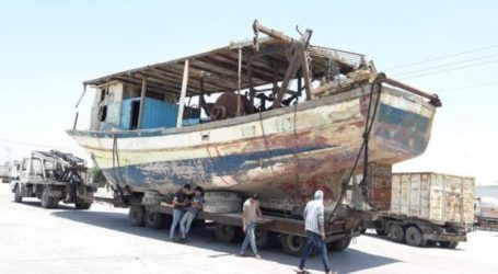 Nelayan Gaza Dapatkan Kembali Kapalnya Setelah Menang di Pengadilan