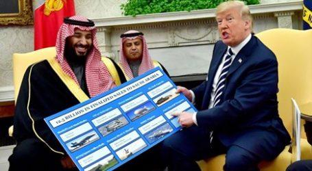 Kongres AS Hentikan Jual Senjata ke Arab Saudi
