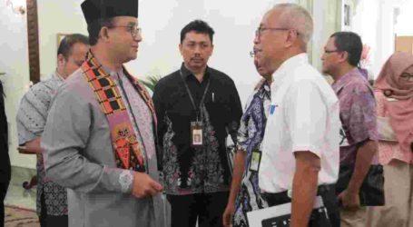 Gubernur DKI – Pertamina – SKK Migas Bahas Tumpahan Minyak