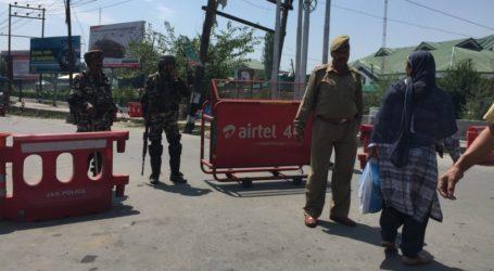 Hari Jumat India Kembali Perketat Pembatasan di Srinagar