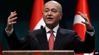 Pejabat Tinggi Irak Bahas Serangan Israel