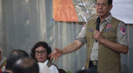 Kepala BNPB: Siapkan Strategi Hadapi Bencana