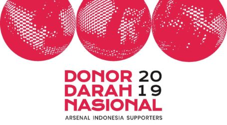 Arsenal Indonesia Supporter Gelar Donor Darah Nasional