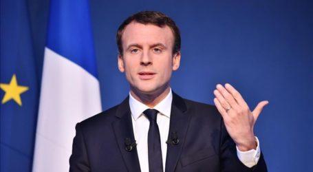 Presiden Perancis Kunjungi Lebanon Pascaledakan Beirut