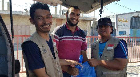 MER-C, AWG dan Al-Fatah Bagi Kurban di Gaza