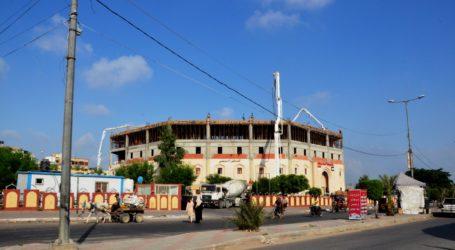 Struktur Atap RS Indonesia di Palestina Rampung Sesuai Target