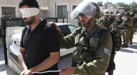 Israel Tahan 17 Warga Palestina di Tepi Barat