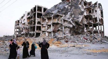 Israel Dorong Warga Gaza Berimigrasi ke Negara Lain