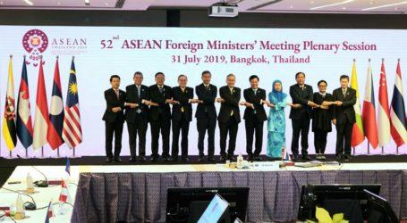 Menlu RI Hadiri Sesi Paripurna Pertemuan Menteri ASEAN