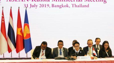 Menlu RI Pimpin Pertemuan ASEAN-Rusia