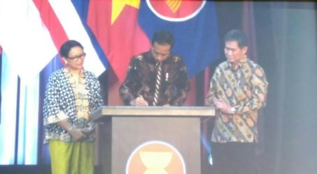 Presiden Jokowi Resmikan Gedung Baru Sekretariat ASEAN