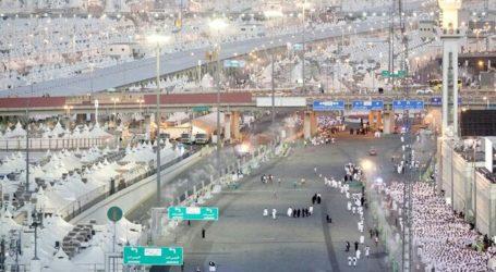Sekitar 2,5 Juta Jamaah Wukuf di Arafah