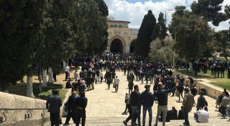 Jamaah Palestina Gagalkan Masuknya Pemukim Yahudi ke Masjid Al-Aqsha