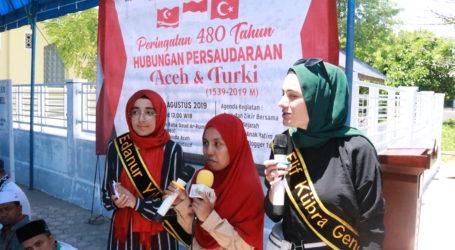 Aceh Rayakan 480 Tahun Hubungan Dengan Turki
