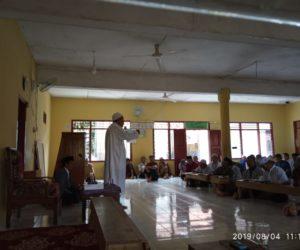 Ustaz Khozin, Saat mengisi Tabligh Akbar Jamaah Muslimin (Hizbullah) di Masjid At-Taqwa desa Ciamis, Sungkai Utara, Lampung Utara. (Photo by: File Istimewa)