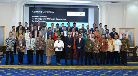 Indonesia Beri Pelatihan Pertambangan kepada Afghanistan