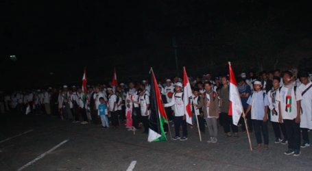 Ribuan Umat Islam Ikuti Long March Cinta Al-Aqsa