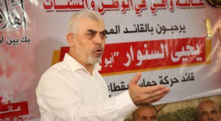 Pimpinan Hamas Kunjungi Keluarga-keluarga di Jalur Gaza