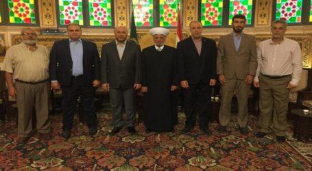 Hamas dan Mufti Lebanon Bahas Kejahatan Israel