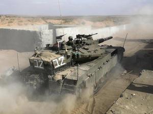 Serangan Roket Hamas, Israel Balas dengan Serangan Udara