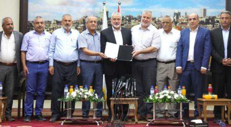Hamas Terima Inisiatif Faksi-Faksi Palestina Akhiri Perpecahan Internal