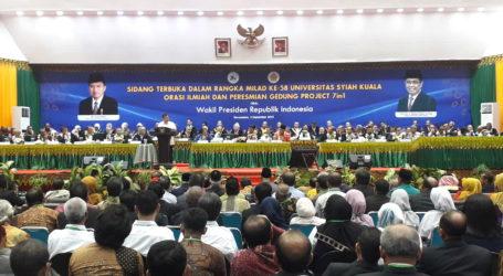 Jusuf Kalla Sebut Aceh Banyak Perubahan