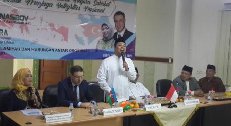 Wali Kota Tangerang Buka Seminar Internasional Ukhuwah Islamiyah MUI bersama Dubes Azerbaijan