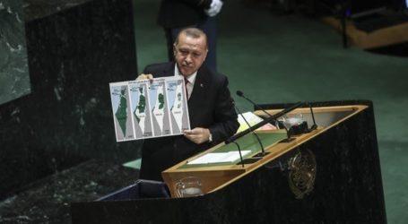 Erdogan : Di mana Batas Negara Israel?