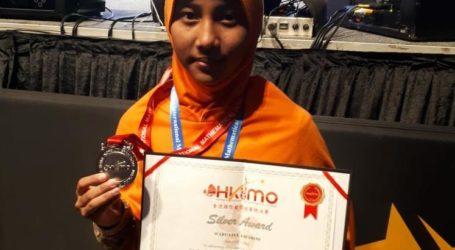 Siswi MTsN 1 Raih Medali Perak Olimpiade Matematik Di Hongkong