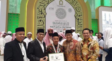 Qori Indonesia Juara 3 MTQ Internasional di Mekah