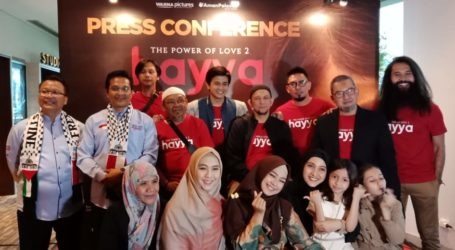 Film 'Hayya: The Power of Love 2' Berlatar Belakang Palestina dan Indonesia