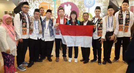 Tim Pelajar DKI Jakarta Raih Juara Kedua Olimpiade Metropolis Moskow