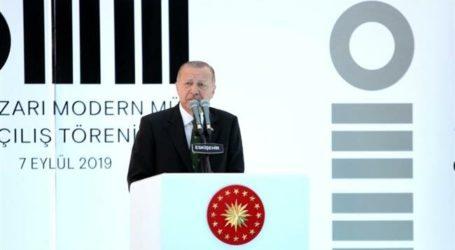 Erdogan Desak Dunia Islam Satukan Kekuatan Atasi Masalah