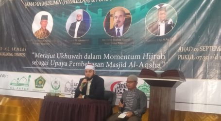 Ketua AWG Malaysia: Peran Indonesia di Al-Aqsa Cukup Besar
