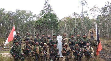 Prajurit TNI Gelar Patroli Bersama Tentara PNG di Perbatasan