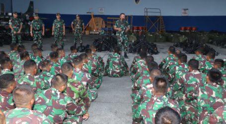 Asops. Panglima TNI di Papua: Prajurit TNI Jangan Mudah Terprovokasi