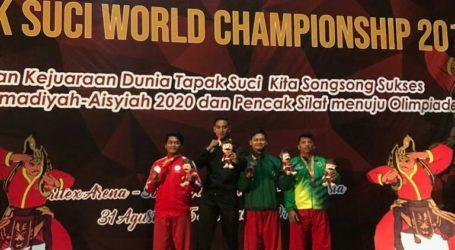 Alumnus Al-Fatah Raih Medali Emas di Kejuaraan Dunia Pencak Silat Tapak Suci