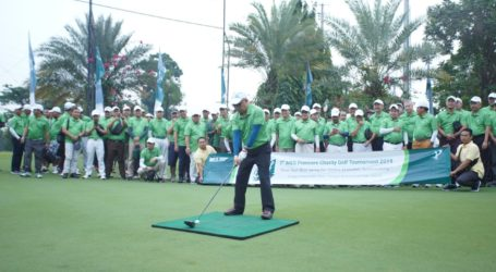 Gelar Turnamen Golf Charity, MES Ingin Bangkitkan Ekonomi Syariah