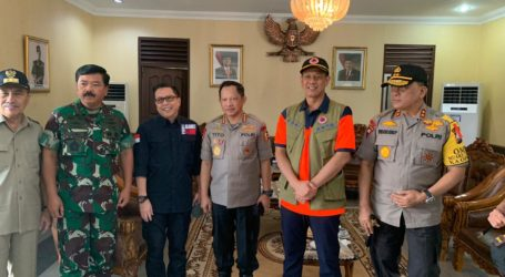 Kepala BNPB dan Panglima TNI Lakukan Anev Karhutla di Riau