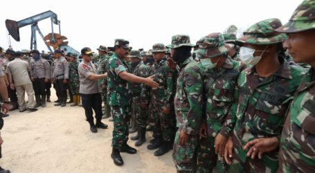 TNI Akan Terbangkan Drone 24 Jam di Area Karhutla