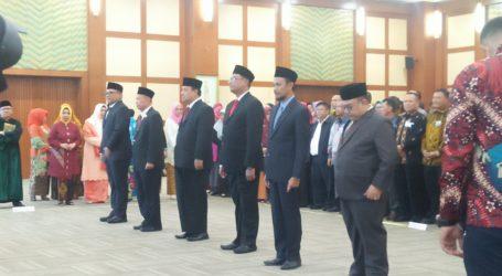 Enam Pimpinan Perguruan Tinggi Negeri Dilantik